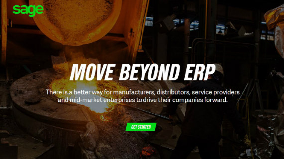 Sage Solutions for Large Businesses - Move Beyond ERP