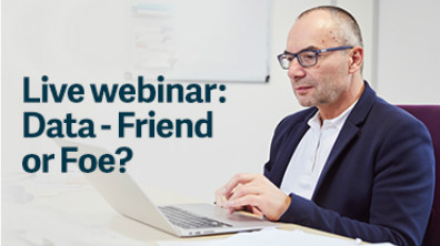 Sage Live Webinar: Data - Friend or Foe?