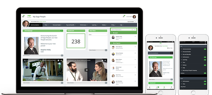 Sage Business Cloud People - Workforce Experience Management