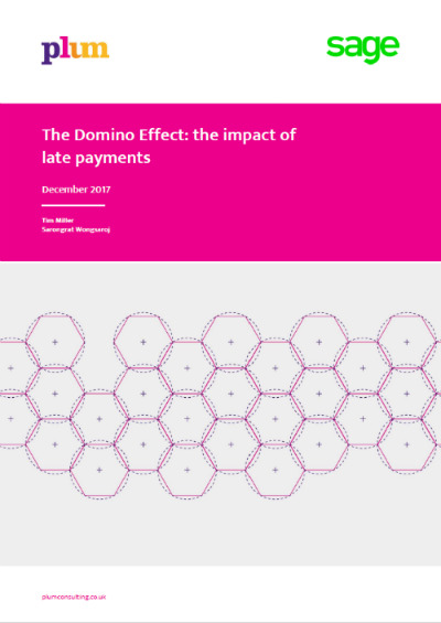 Domino Effect : the impact of late payments