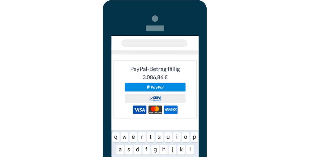 Sage 50cloud PayPal-Integration