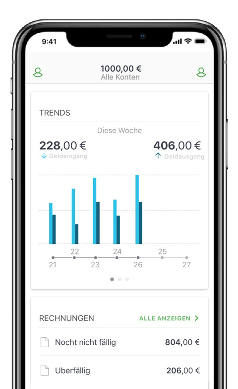 Sage Business Cloud Buchhaltungs-App