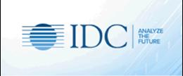 IDC logo: with text - IDC | analyze the future