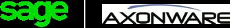 Sage Axonware partnership logo