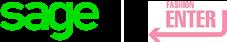 Sage Fashion Enter partnership logo