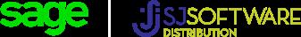 Sage SJ Software Distribution partnership logo