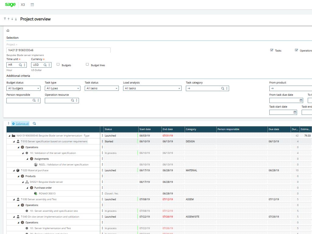 Enterprise Management desktop screenshot