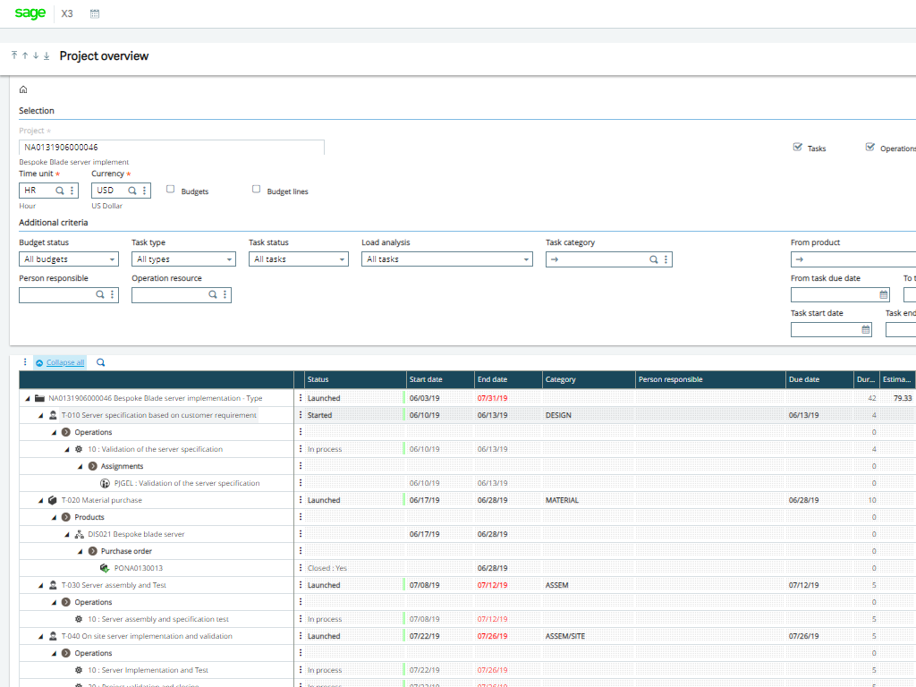 Enterprise Management desktop screenshot