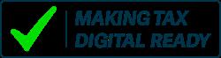 Making Tax Digital Ready logo with checkmark