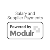 Modulr grayscale logo