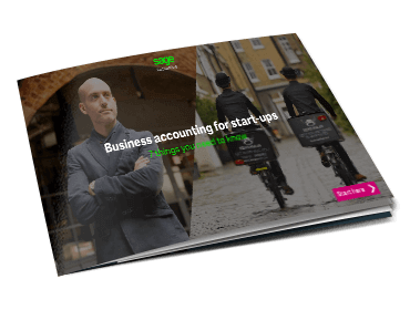 Front cover of Sage guide, Business Accounting for Start-ups