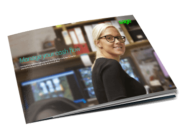 Front cover of Sage Manage Your Cashflow guide