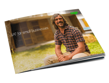 Front cover of Sage guide, VAT for Small Businesses