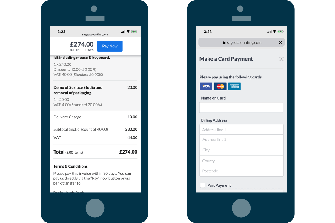 Easy invoices and expenses screenshot