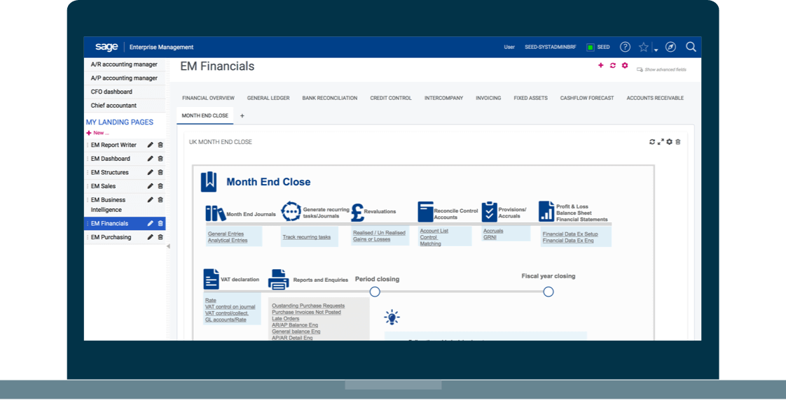 Ensure compliance screenshot