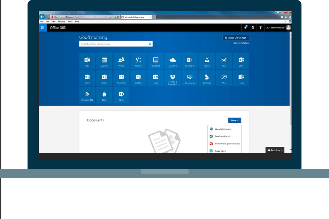 Medium business features screen 2