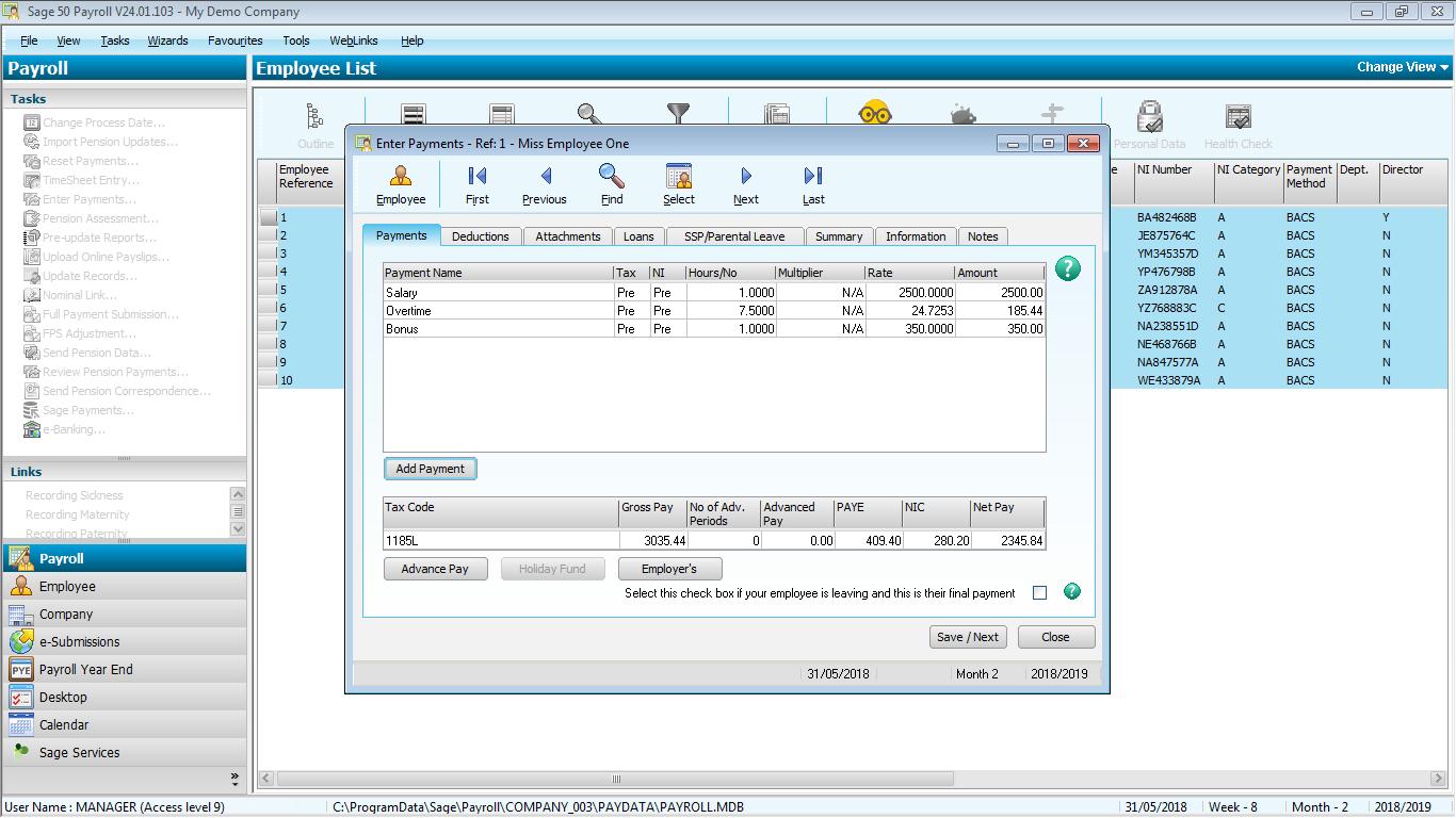 Sage 50cloud Payroll | Payroll Software | Sage Store