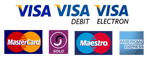 Payment by credit/debit cards