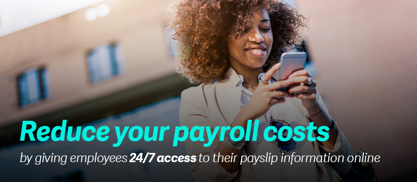 Reduce your payroll costs with Sage Online Payslips