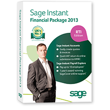 Sage Instant Accounts Plus Financial Package