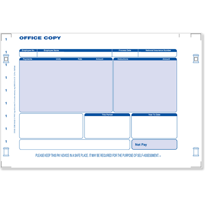 Sage payslip plus stationery sage store for Sage line 50 invoice template