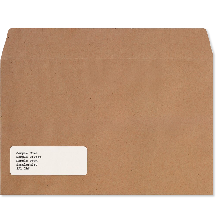 External Envelopes (£19.00+VAT)