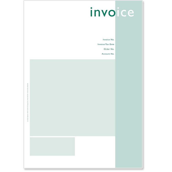 Sage Invoices Stationery Sage Store - Sage invoice layout