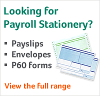 Sage Payroll Stationery
