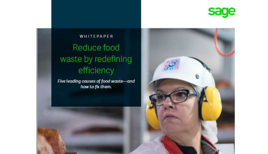 Whitepaper - Reduce food  waste by redefining  efficiency
