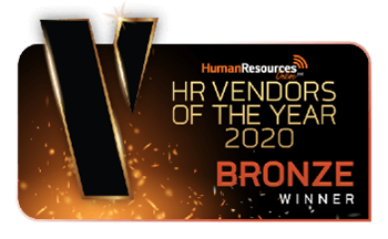 Sage winner of HR Vendors of the year 2019 Bronze award