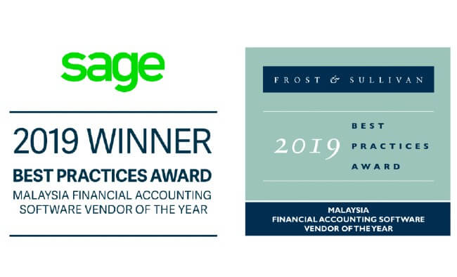 Sage wins award for Financial Accounting Software Vendor of the Year