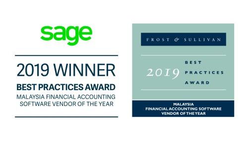Sage wins Best Practices Award from Frost and Sullivan