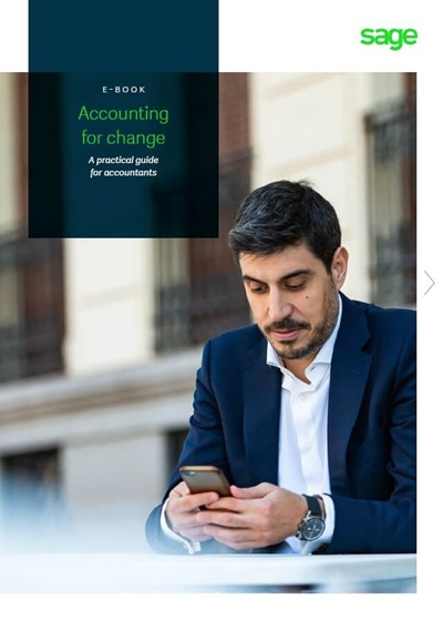 Accounting for change - ebook cover