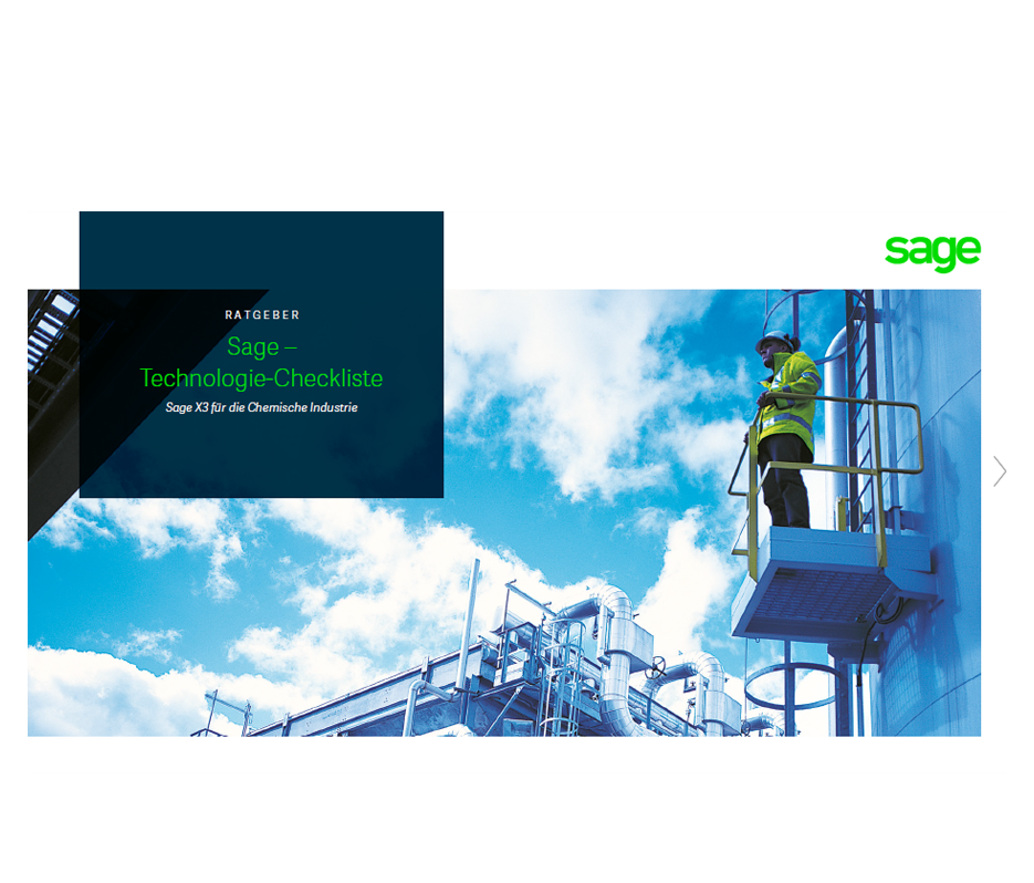 Front cover of Sage Technology Checklist content piece