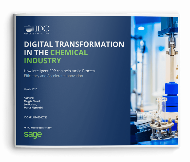 Digital Transformation in the Chemical Industry report cover
