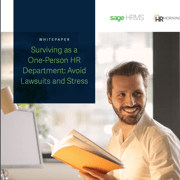 Surviving as a one person HR department