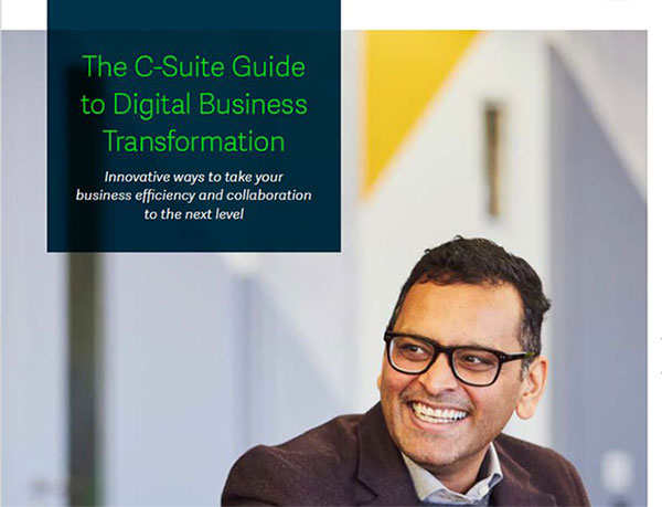 The C-Suite Guide to Digital Business Tranformation cover
