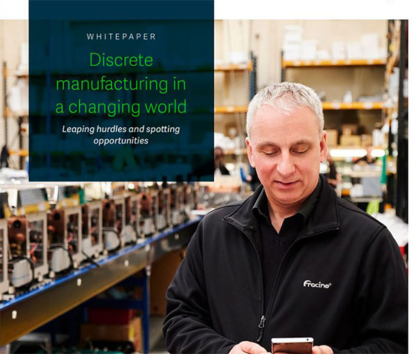 Discrete manufacturing in a changing world whitepaper cover