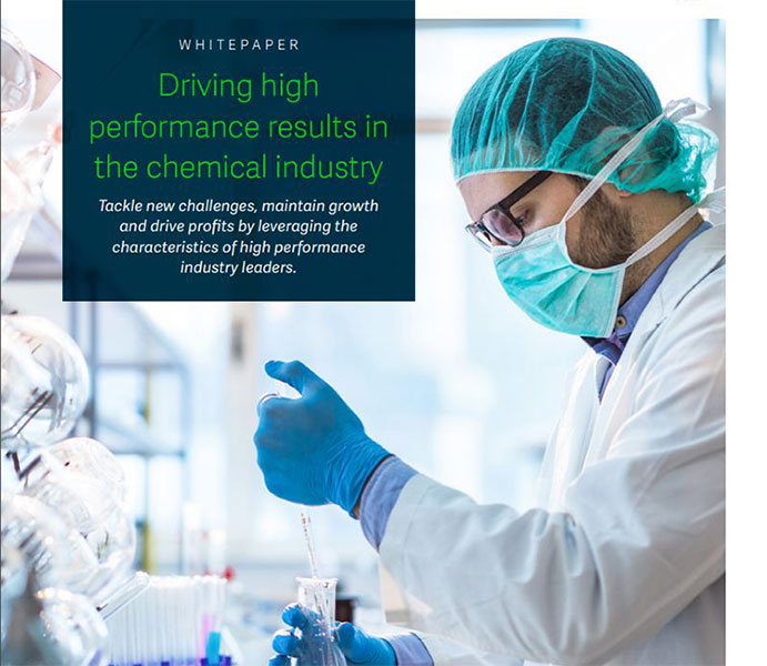Driving high performance results in the chemical industry whitepaper