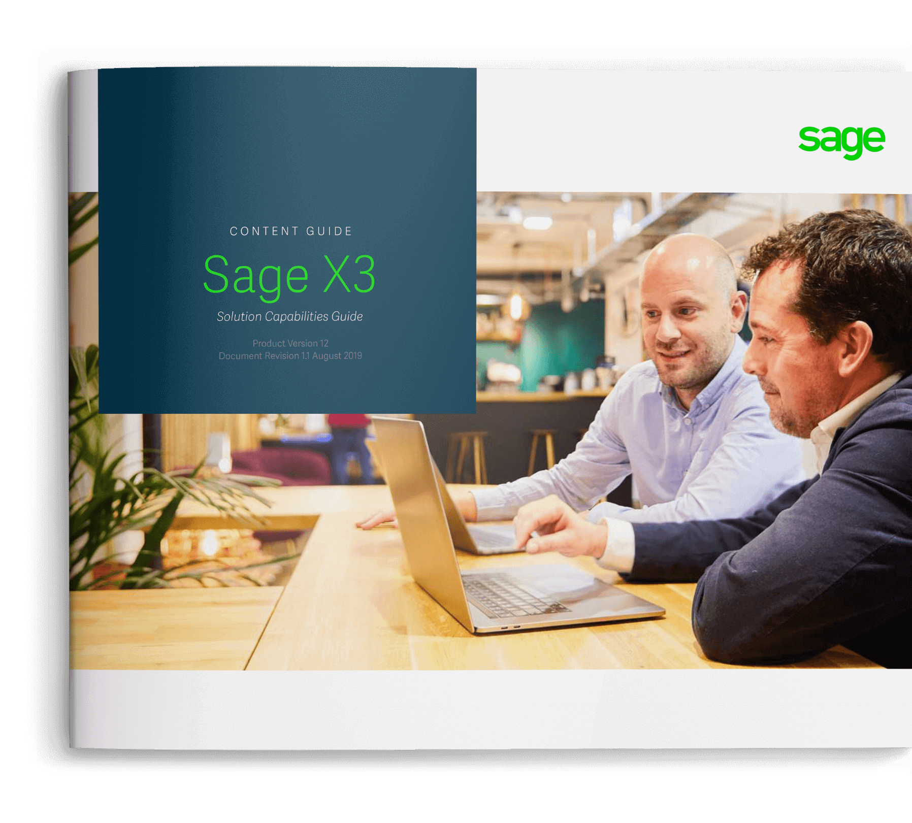 Sage X3 Solution Capabilities Guide cover