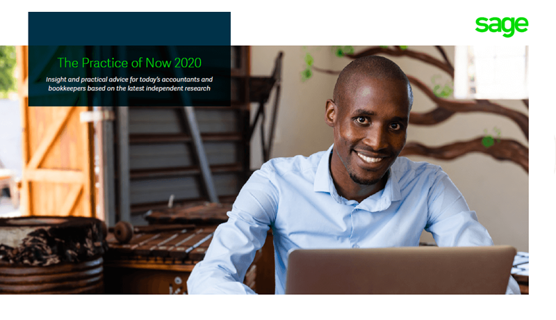 The Practice of Now 2020 cover image - South Africa: photo of smiling man sitting at desk in front of laptop