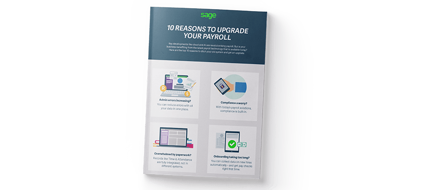 10 reasons to upgrade your payroll (infographic)