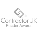 Logotipo de premios Contractor UK Reader Awards