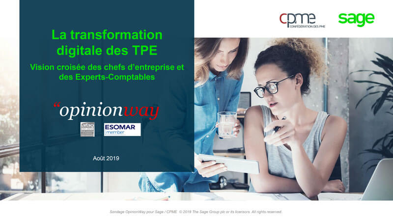 Couverture de l'enquete La transformation digitale des TPE