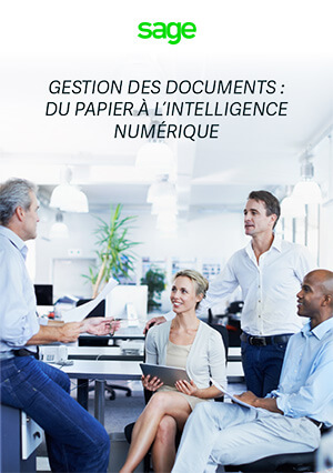 Vignette du guide Gestion des documents : du papier à l'intelligence numérique