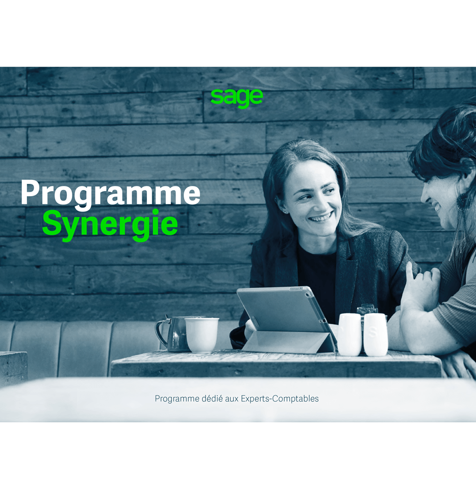 Couverture guide Programme Synergie Experts-Comptables