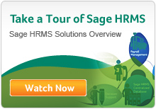 Sage HRMS Solutions Overview