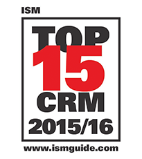Sage CRM Wins ISM Top 15 CRM Software Award