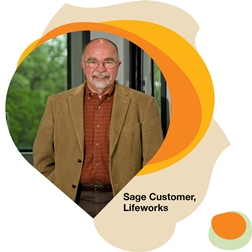 Sage Nonprofit customer Lifeworks