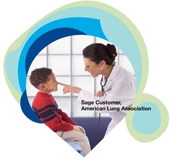 Sage Nonprofit customer American Lung Association